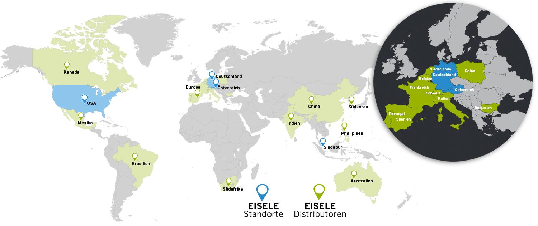 Weltweit Eisele Pneumatics